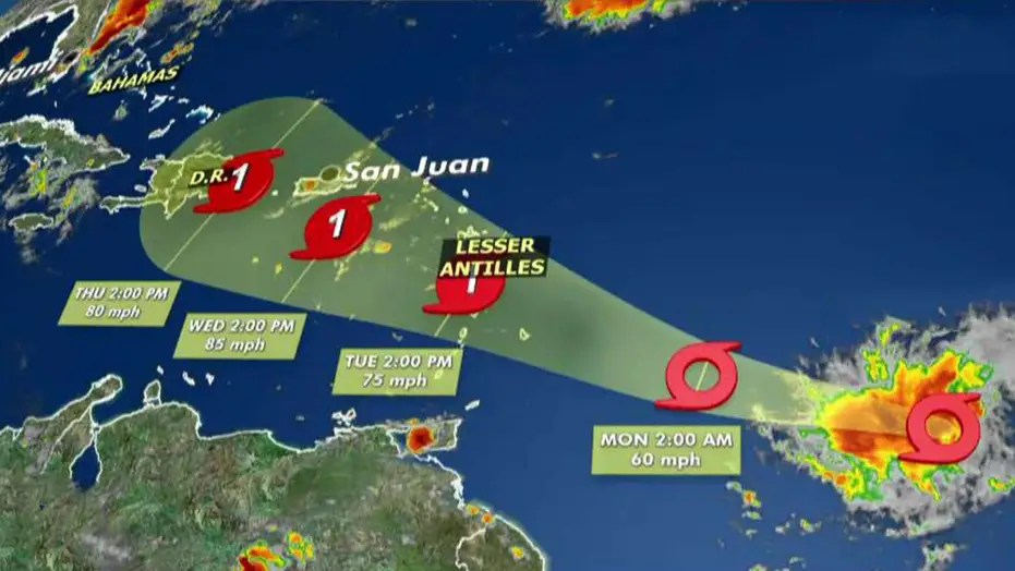 tropical storm dorian forms