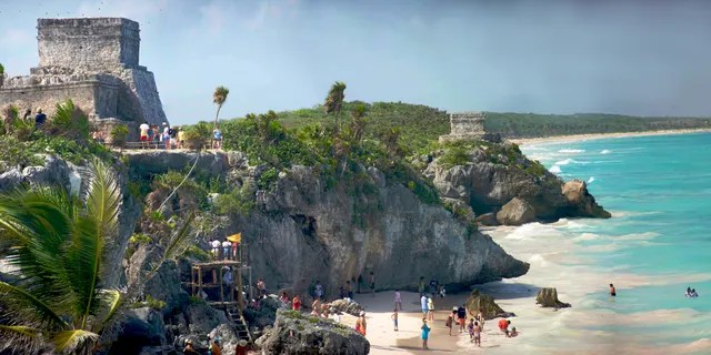 A number of partygoers in attendance at an art festival in Tulum last month reportedly contracted COVID.