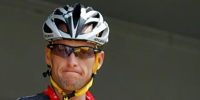 Lance Armstrong is a disgraced former pro cyclist.