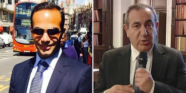 George Papadopoulos (left) pleaded guilty in October to lying to the FBI about his conversations with Maltese professor Joseph Mifsud (right).