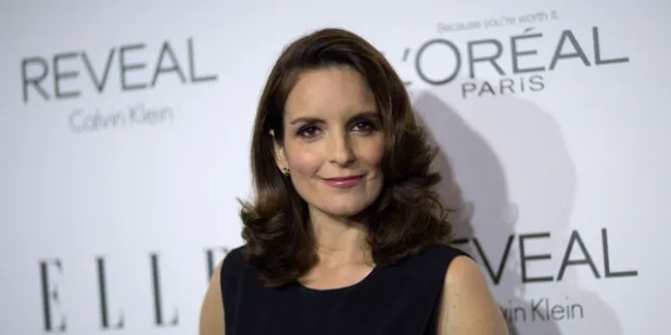 Tina Fey poses at the 21st Annual ELLE Women in Hollywood Awards in Los Angeles on October 20, 2014.