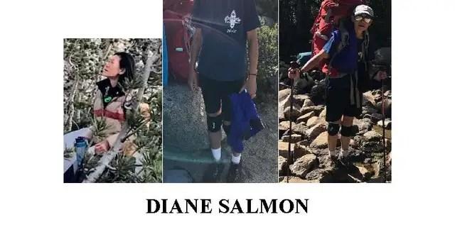 Diane Salmon wurde am Freitag vermisst gemeldet.