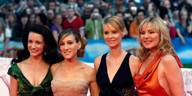 (L-R) Kristin Davis, Sarah Jessica Parker, Cynthia Nixon and Kim Cattrall. A revival of 'Sex and the City' is coming to HBO Max.
