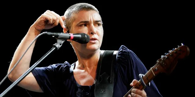 Irish singer Sinead O'Connor performs on stage during the Positivus music festival in Salacgriva July 18, 2009.