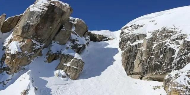 Down Falling Rocks Mountain Picture
