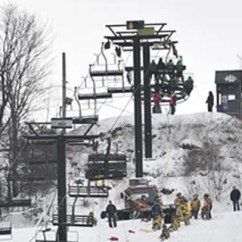 Ski Chair Lift Malfunction Folding Leg Caps 7/8 5 Injured After Malfunctions At Pennsylvania Resort Fox News Authorities Said Five Skiers Suffered Minor Injuries When The Tussey Moutain