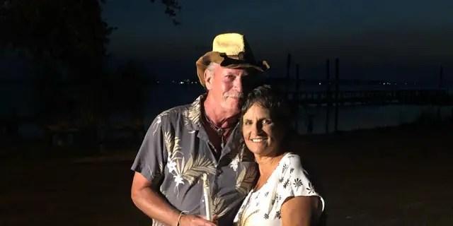 Tracy Arnette met George Gumpert Sr. on Thursday night.