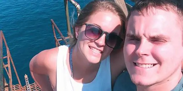 Axel Steenburg and his wife, Amy, were killed, according to Axel's stepfather, Lester Andrews.