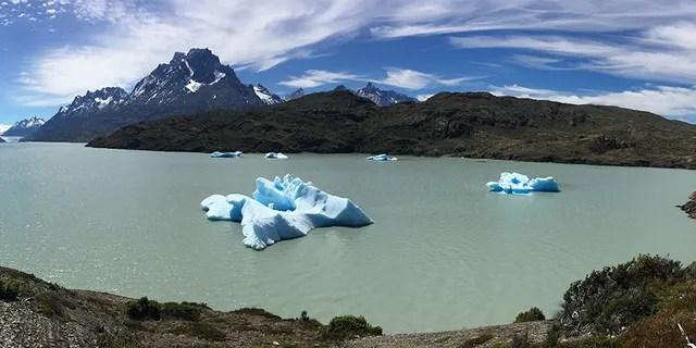 Fonte des glaces en Patagonie.
