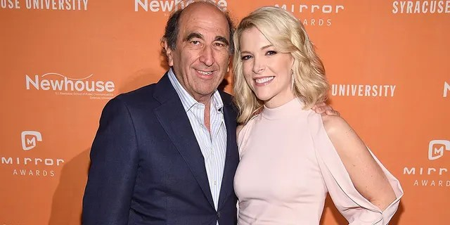 NBC News president Andy Lack and Megyn Kelly take part in the 2017 Mirror Awards in New York. (Photo by Dimitrios Kambouris / Getty Images)