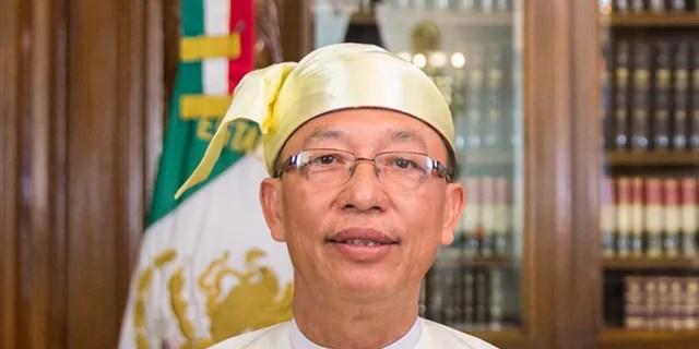 Ständiger Vertreter der Vereinten Nationen für Burma, offiziell als Myanmar, Hau do Suan, bekannt