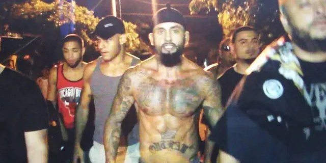 "Rene ""Level"" Martinez walking through the streets in Nicaragua before defeating Ricardo Mayorga in a fight."