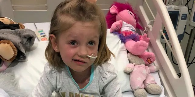 """Myla Mae Hatcher was diagnosed with """"severe aplastic anemia"""" just before Christmas 2017."""