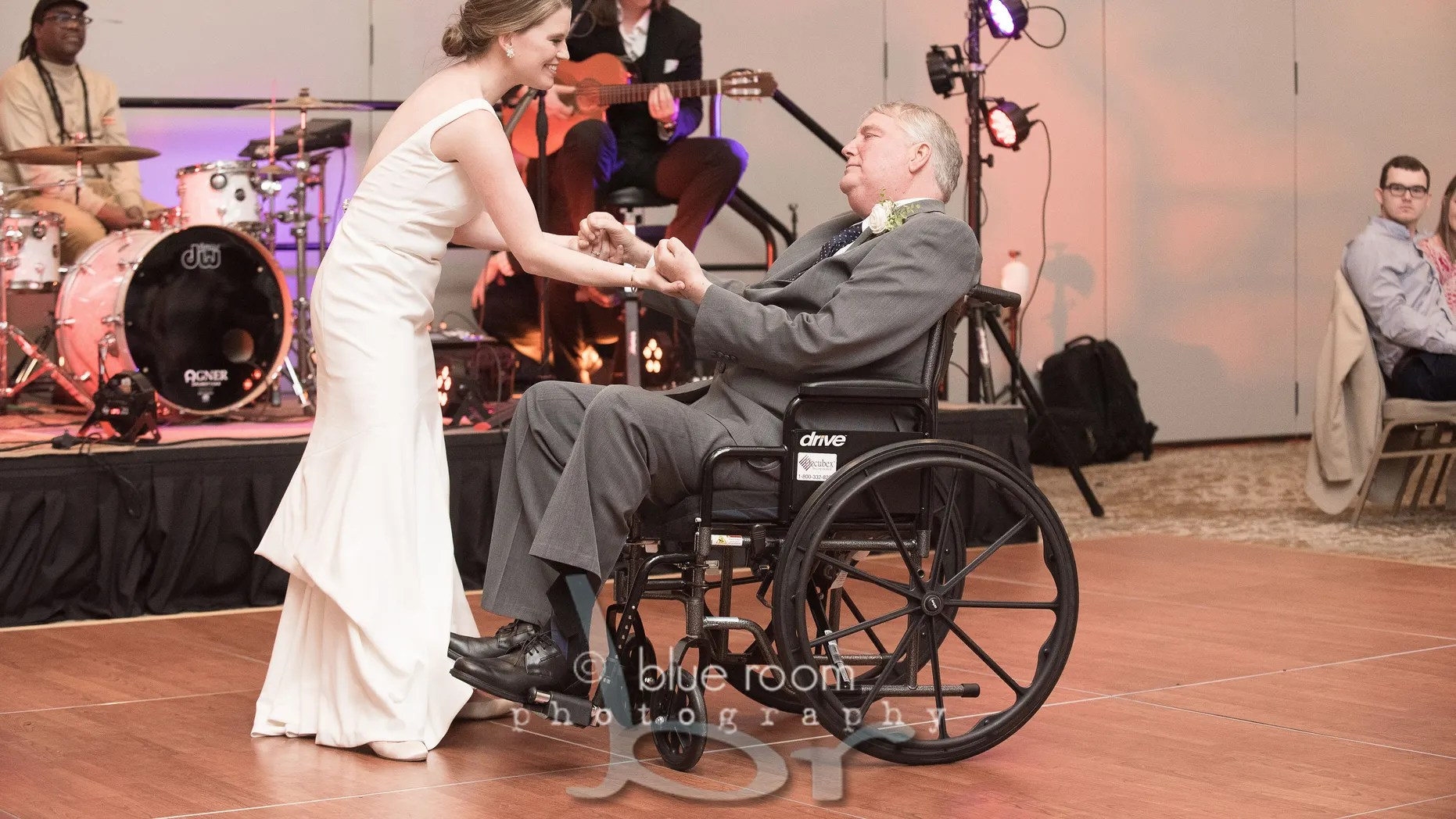 , VIRAL VIDEO: Bride Dances With Her Terminally ill Dad In Traditional Father-Daughter Wedding Dance