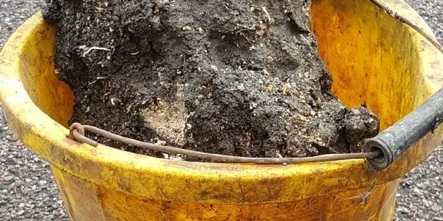 """The first chuck of the 210-foot """"fatberg"""" in Sidmouth, England was brought to the surface as sewer workers began their mammoth task of removing it."""