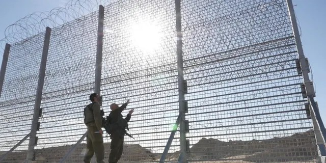 Israel has begun construction of an above-ground barrier surrounding the Gaza Strip.