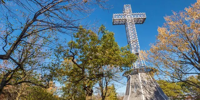 The second-largest opposition party, the left-wing Québec Solidaire party, have made their support for any ban on religious symbols contingent on it applying equally to symbols of Christianity, of which there are many in Québec. QS has often called for the prominent cross that sits, illuminated, atop Montréal's Mount Royal to come down