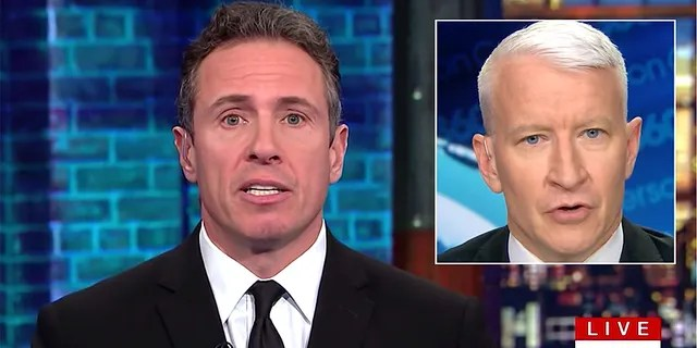 Chris Cuomo and Anderson Cooper are part of CNN's struggling primetime lineup that lost 38% of its audience in the key demo during the second quarter of 2019.