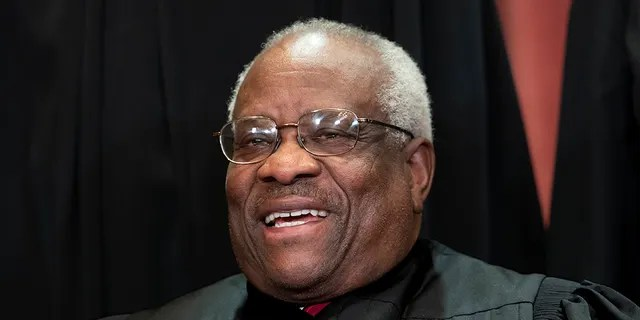 Associate Justice Clarence Thomas wrote in an opinion Monday that precedent should always be secondary to the Constitution. (AP Photo/J. Scott Applewhite)