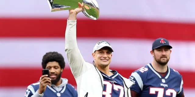 Gronk won three Super Bowls in New England.