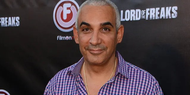 HOLLYWOOD, CA - JUNE 29: Producer Alki David attends the movie premiere of Alki David's Lord Of The Freaks at the Egyptian Theatre on June 29, 2015 in Hollywood, California.