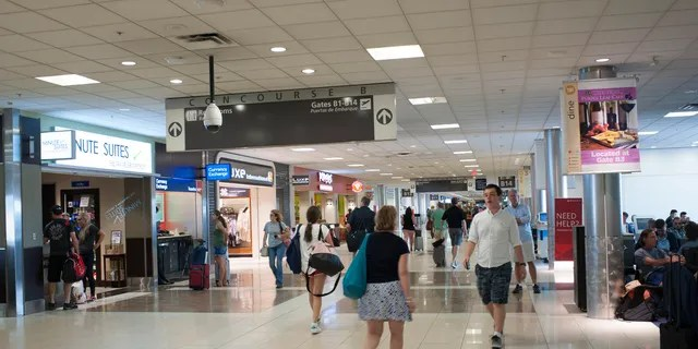 Police said there has been a 20 percent drop in felonies in the past year at Atlanta's Hartsfield-Jackson International Airport.