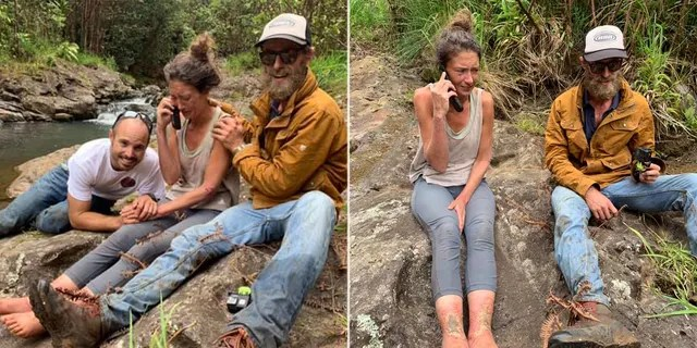 Amanda Eller was found on Friday after being lost for 17 days in a Hawaii forest.
