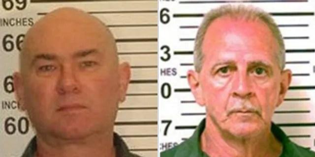 Robert McCain, left, and Richard LaBarbera, right.