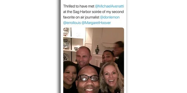 Michael Avenatti once attended a party at Don Lemon's weekend home in the prestigious Hamptons area east of New York City, according to Juanita Scarlett.