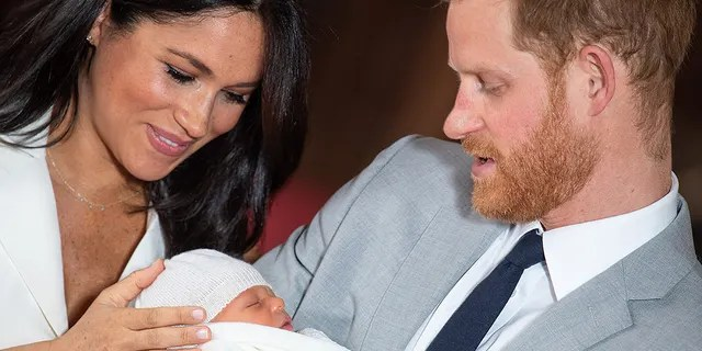 Meghan Markle and Prince Harry coo over Archie Harrison. The royal baby is their firstborn son.