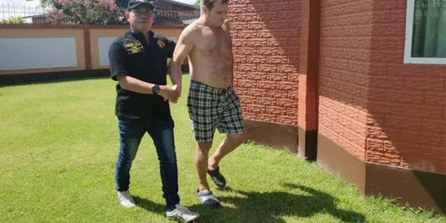 Francesco Galdelli was arrested by the Crime Suppression Division of the Royal Thai Police. (Crime Suppression Division/Royal Thai Police photo)