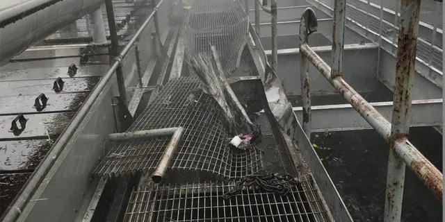 Image FDNY released from theroof of 787 Seventh Avenue in Midtown Manhattan, the sceneof Monday's helicopter crash.