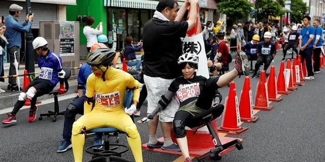 Tsuyoshi Tahara, creator of the race, said he