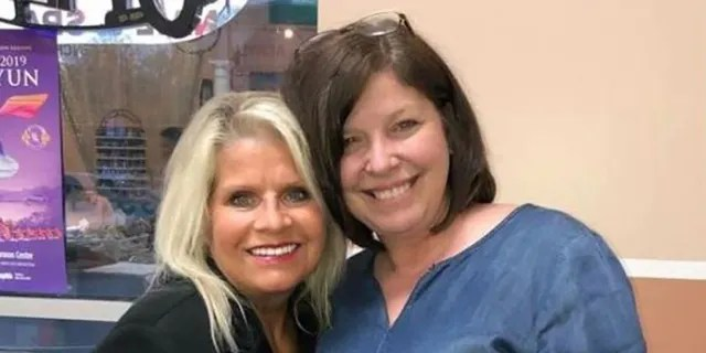 The Randolph County sheriff confirmed to Little Rock's FOX 16 that this photo is of Linda Collins-Smith (left) and suspect Rebecca Lynn O'Donnell. (Facebook)