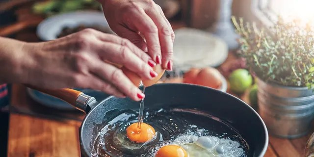 "Eggs are an excellent source of protein and can help to keep us feeling satisfied - with <a data-cke-saved-href=""https://www.sciencedirect.com/science/article/pii/S0271531710000035"" href=""https://www.sciencedirect.com/science/article/pii/S0271531710000035"" target=""_blank"">studies confirming</a> them as great appetite-regulators."