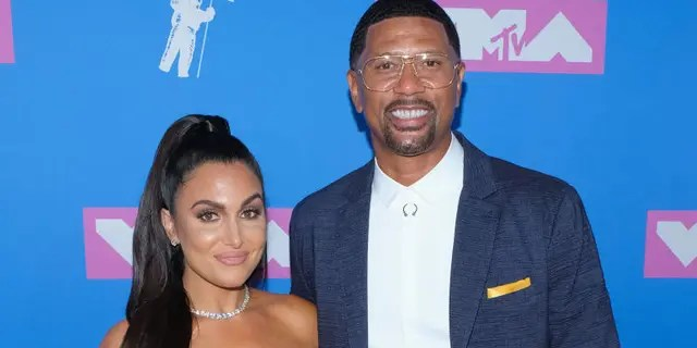 Molly Qerim and Jalen Rose attend the 2018 MTV Video Music Awards at Radio City Music Hall on Aug. 20, 2018 in New York City. (FilmMagic)