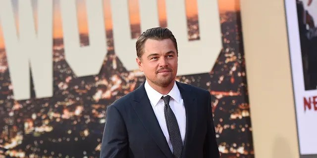 """Leonardo DiCaprio at the Los Angeles premiere of """"Once Upon a Time in Hollywood,"""" at the TCL Chinese Theatre, Monday, July 22, 2019."""