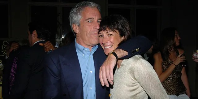 Jeffrey Epstein and Ghislaine Maxwell together in 2005