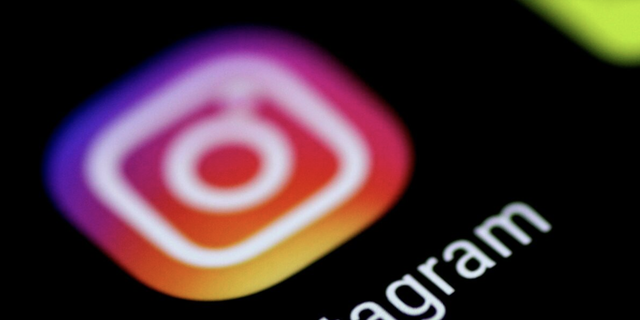 The Instagram application is seen on a phone screen August 3, 2017.