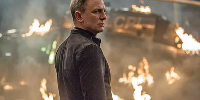 Daniel Craig in 'Spectre.' He clarified his 2015 comments about wanting to commit self-harm rather than film another picture as James Bond, claiming he was 'joking.'
