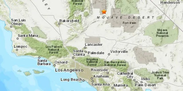 A 6.4 earthquake occurred near Searless Valley, Calif., according to the USGS.
