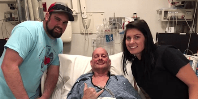 Ed Kriesel, 58, of Ahwatukee Foothills, underwent a double lung transplant about three months ago.