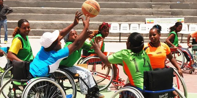 Players in South Sudan find hope and healing in wheelchair basketball