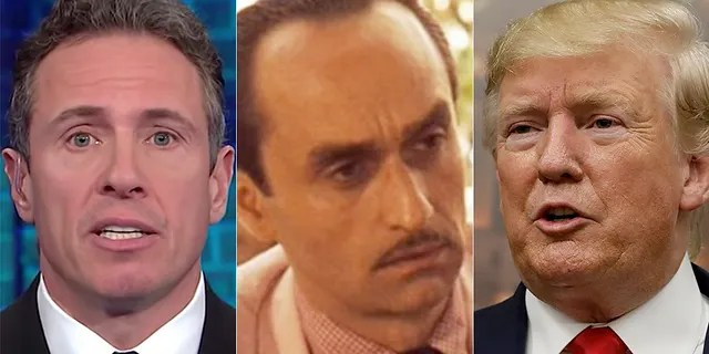 """President Trump has mocked CNN's Chris Cuomo by comparing him to Fredo from """"The Godfather."""""""