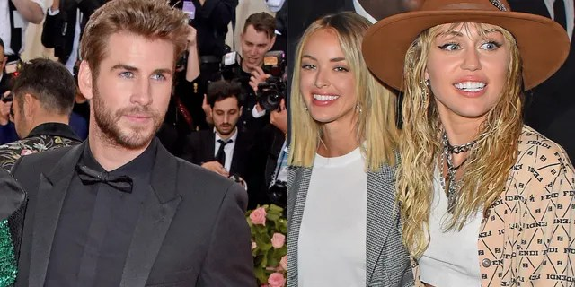 """Liam Hemsworth, pictured here at the Met Gala in May 2019, filed for divorce from Miley Cyrus after the """"Hannah Montana"""" star announced they'd separated. Cyrus publicly rebounded with Kaitlynn Carter, who used to date reality star Brody Jenner."""
