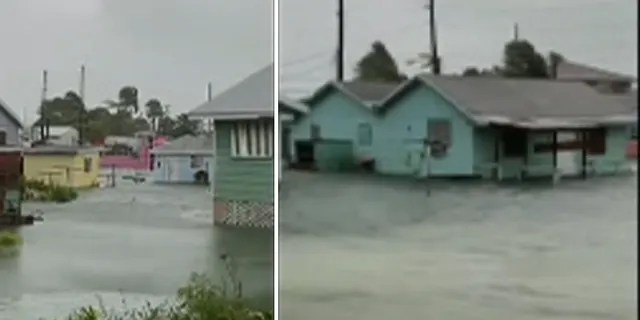 Dorian could affect 73,000 residents and 21,000 homes.(Jason Bethel via Storyful)