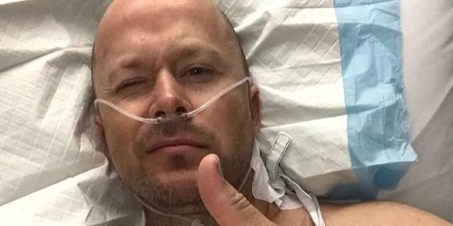 Ryan à l'hôpital.