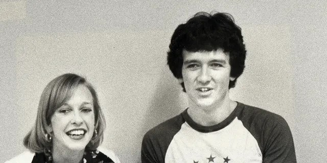 Actor Patrick Duffy and wife Carlyn Rosser, circa 1977.