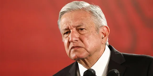 Mexico's President Andres Manuel Lopez Obrador looks on during a news conference at the National Palace in Mexico City, Mexico, November 13, 2019. REUTERS/Edgard Garrido - RC2EAD9PS4NH