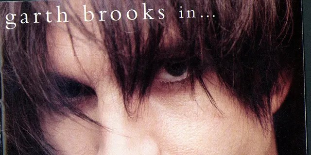"""CD cover of country musician Garth Brook's new pop-rock album """"Garth Brooks in ... the Life of Chris Gaines."""""""
